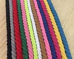 Cordão de algodão para macrame