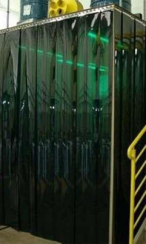 cortina verde para solda