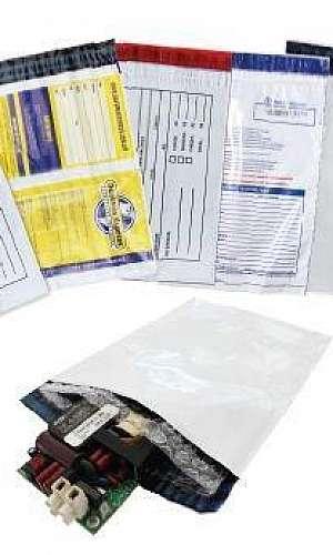 Envelope de segurança personalizado