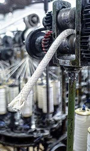 Fábrica de cordão de algodão