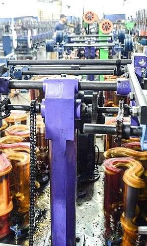 Fábrica de cordão de polipropileno