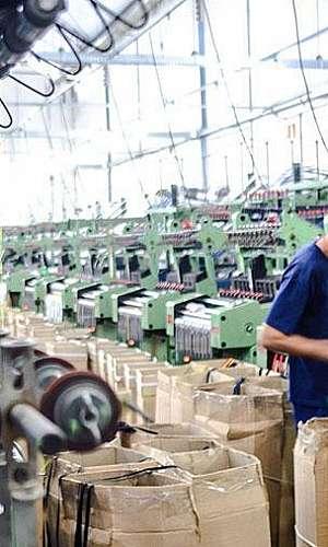 Fábrica de fita de gorgurão