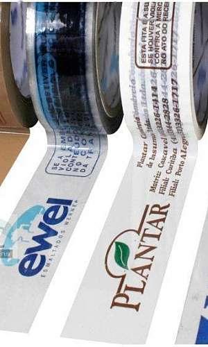 Fita adesiva personalizada