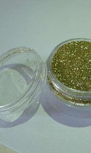 Glitter dourado preço