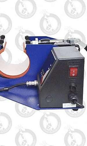 Prensa térmica digital para sublimação em canecas e squeezes