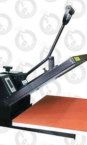 Prensa térmica para sublimação plana 40x60cm